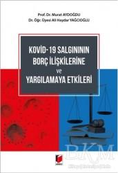 Adalet Yayınevi - Kovid-19 Salgınının Borç İlişkilerine ve Yargılamaya Etkileri