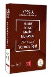 Yargı Yayınları - KPSS A ÇEK KOPAR YAPRAK TEST 2018