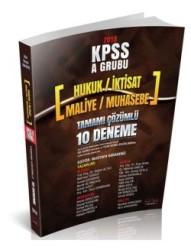Savaş Yayınları - KPSS A Grubu 40 Soruluk Tamamı Çözümlü 10 Deneme Sınavı Savaş Yayınları