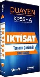 Dahi Adam Yayıncılık - KPSS A Grubu İktisat Duayen Tamamı Çözümlü Soru Bankası
