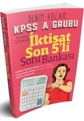 Benim Hocam Yayınları - KPSS A Grubu İktisat Son 5 li Tamamı Çözümlü Soru Bankası Benim Hocam Yayınları