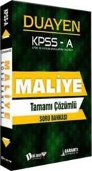 Dahi Adam Yayıncılık - KPSS A Grubu Maliye Duayen Tamamı Çözümlü Soru Bankası