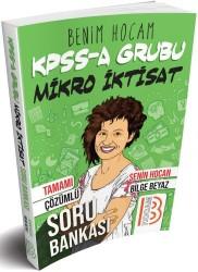 Benim Hocam Yayınları - KPSS A Grubu Mikro İktisat Tamamı Çözümlü Soru Bankası Benim Hocam Yayınları