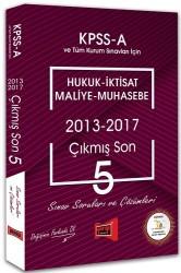 Yargı Yayınları - KPSS A HUK.İKT.MAL.MUH.ÇIK.SON 5 S.SORU