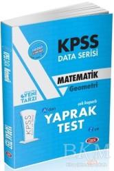 Data Yayınları - KPSS ALES DGS Kitapları - KPSS Data Serisi Matematik Geometri Çek Koparlı Yaprak Test