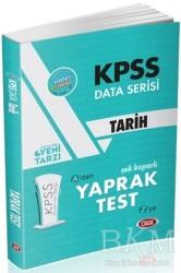 Data Yayınları - KPSS ALES DGS Kitapları - KPSS Data Serisi Tarih Çek Koparlı Yaprak Test