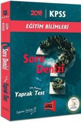 Yargı Yayınları - KPSS EĞİTİM BİLİMLER SORU DENİZİ Y.TEST 2018