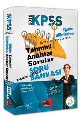 Yargı Yayınları - KPSS EĞİTİM BİLİMLERİ ANAHTAR SORU 2018