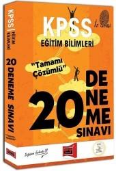 Yargı Yayınları - KPSS Eğitim Bilimleri İz Serisi Tamamı Çözümlü 20 Deneme Sınavı Yargı Yayınları