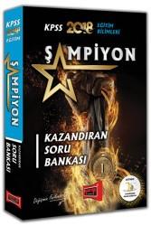 Yargı Yayınları - KPSS EĞİTİM BİLİMLERİ ŞAMPİYON SORU 2018