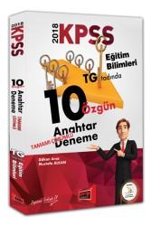 Yargı Yayınları - KPSS Eğitim Bilimleri Tamamı Çözümlü 10 Özgün Anahtar Deneme Yargı Yayınları