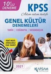 Kapsam Yayınları - KPSS Genel Kültür 10'lu Deneme Deneme Seti