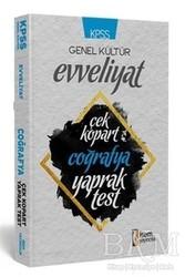 İSEM Yayıncılık - KPSS Genel Kültür Evveliyat Coğrafya Çek Kopart Yaprak Test