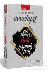 İSEM Yayıncılık - KPSS Genel Kültür Evveliyat Tarih Çek Kopart Yaprak Test