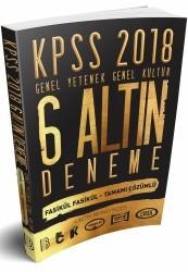 Benim Hocam Yayınları - KPSS Genel Yetenek Genel Kültür Tamamı Çözümlü 6 Altın Deneme 2018
