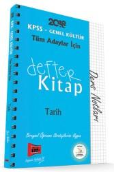 Yargı Yayınları - KPSS GK DEFTER KİTAP TARİH 2018