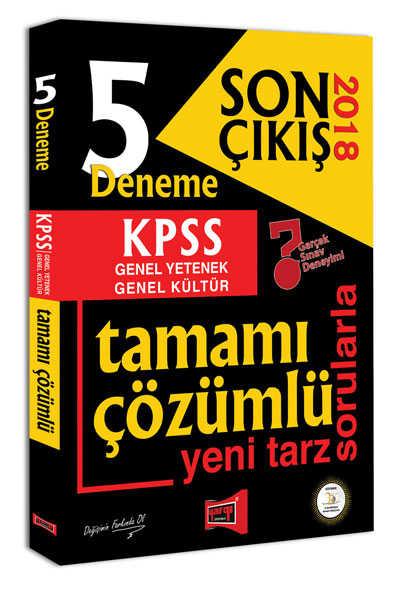 KPSS GK GY 5 DENEME SIN SON BAKIŞ 2018