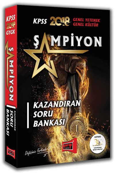 KPSS GK GY LİSANS ŞAMPİYON SORU 2018