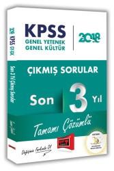 Yargı Yayınları - KPSS GK GY SON 3 YIL ÇIKMIŞ SORU 2018