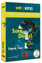 Yargı Yayınları - KPSS GK GY SORU DENİZİ YAPRAK TEST 2018