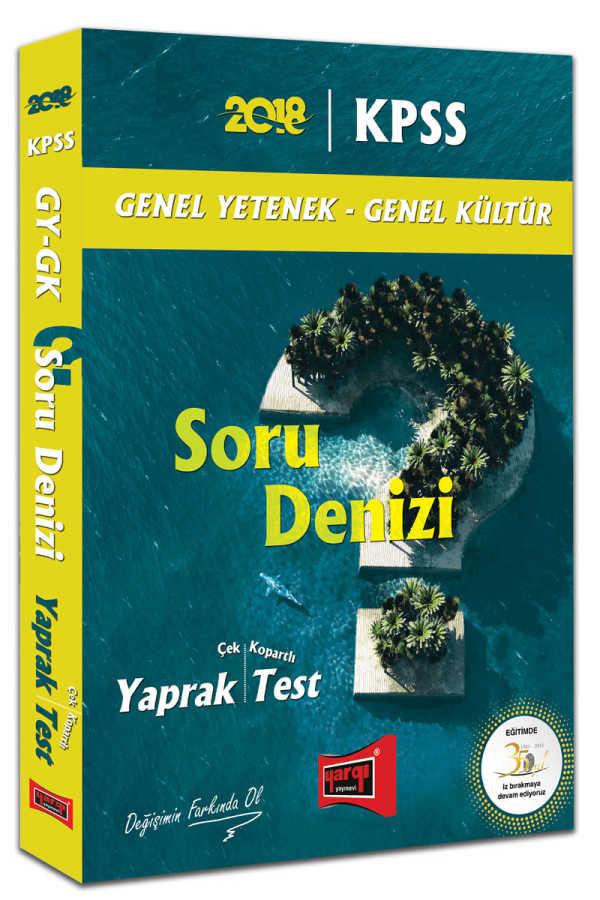 KPSS GK GY SORU DENİZİ YAPRAK TEST 2018