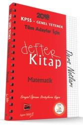 Yargı Yayınları - KPSS GY DEFTER KİTAP MATEMATİK 2018