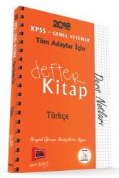 Yargı Yayınları - KPSS GY DEFTER KİTAP TÜRKÇE 2018
