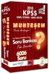 Yargı Yayınları - KPSS GY-GK MUHTEŞEM 6006 SORU BANKASI