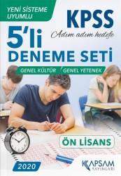 Kapsam Yayınları - KPSS Ön Lisans 5'li Deneme Seti