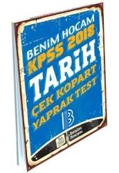 Benim Hocam Yayınları - KPSS Tarih Çek Kopart Yaprak Test Benim Hocam Yayınları