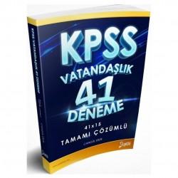 Yetki Yayıncılık - KPSS Vatandaşlık 41 Deneme Çözümlü Yetki Yayıncılık