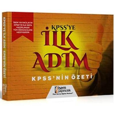 KPSS` ye İlk Adım İsem Kitap