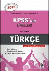 Adalet Yayınevi - KPSS'nin Şifreleri Türkçe