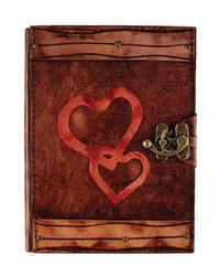 Deffter - Krafton Deri Defter - Heart To Heart M 64202-1