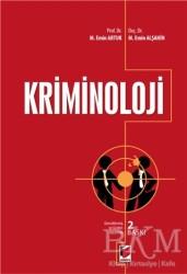 Adalet Yayınevi - Kriminoloji
