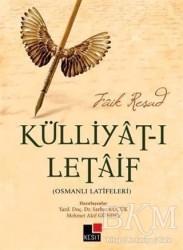 Kesit Yayınları - Külliyat-ı Letaif - Osmanlı Latifeleri
