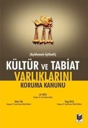 Adalet Yayınevi - Ders Kitapları - Kültür ve Tabiat Varlıklarını Koruma Kanunu