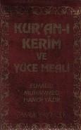 Pamuk Yayıncılık - Kuran ı Kerim ve Yüce Meali Cep Kılıflı Elmalı
