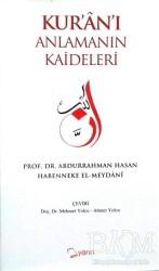 Yarın Yayınları - Kur'an'ı Anlamanın Kaideleri