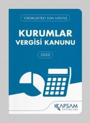 Kapsam Yayınları - Kurumlar Vergisi Kanunu (Cep Boy)