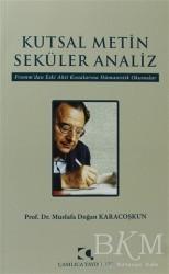 Çamlıca Yayınları - Kutsal Metin Seküler Analiz