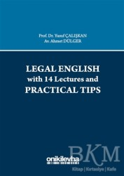 On İki Levha Yayınları - Legal English with 14 Lectures and Practical Tips
