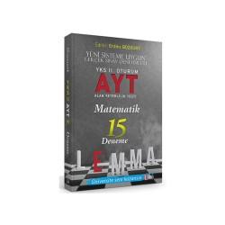 Yargı Yayınları - LEMMA YKS 2.OTR AYT METAMATİK 15 DENEME
