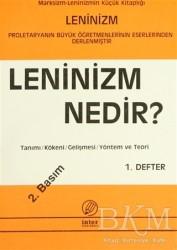 İnter Yayınları - Leninizm Nedir? 1. Defter