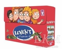 Timaş Çocuk - Levent İz Peşinde 2 Set (5 Kitap Takım)