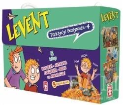Timaş Çocuk - Levent Türkiye'yi Geziyorum - 4 (5 Kitap Takım)