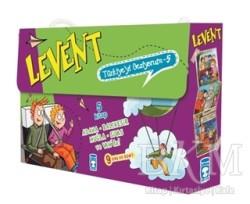 Timaş Çocuk - Levent Türkiye'yi Geziyorum - 5 (5 Kitap Takım)