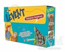 Timaş Çocuk - Levent: Türkiye'yi Geziyorum Seti (5 Kitap Takım Kutulu )