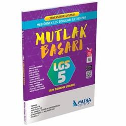Muba Yayınları - LGS 5 Tam Deneme Sınavı Muba Yayınları