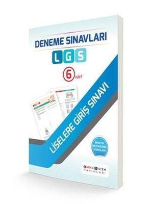 LGS Deneme Sınavları 6x12 Deneme Farklı Sistem Yayınları